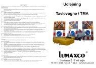 Udlejning Tavlevogne / TMA - Lumaxco