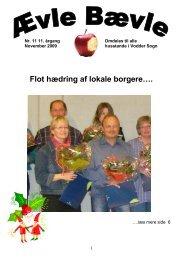 mandag den 21. december 2009 kl. 19.00. - Vodder Sogn - InfoLand
