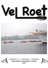 Klubblad nr. 4 – juli/august – 28 årgang - Kolding Roklubberne