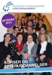 efteråret 2013 - Grønlands Handelsskole