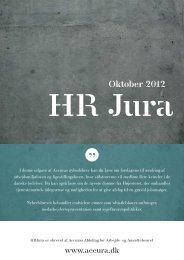 Åbn HRJura som pdf - Accura