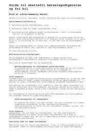 Guide til skattefri kørselsgodtgørelse og fri bil - SkatteInform