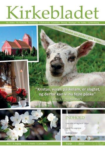 Kirkebladet - Nørre Alslev og Nørre Kirkeby Pastorat