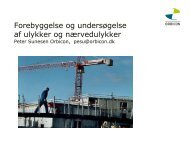 Forebyggelse af ulykker - BAR Bygge & Anlæg