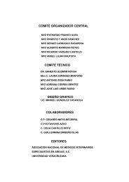 Congreso Internacional de Actualización Apícola. 26 al 28 ... - anmvea