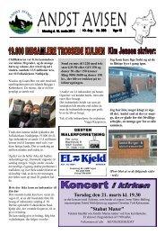 Andst Avisen uge 12 2013