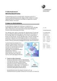 Oplg til strategi diskussion, SIK - IT- og Telestyrelsen