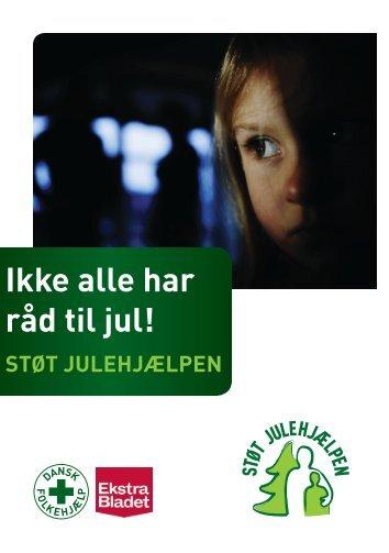 Du kan downloade folderen om Julehjælpen hér - Dansk Folkehjælp