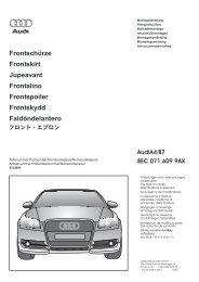 8EC 071 609 9AX AudiA4/B7 - Bernardi Audi Parts and Accessories