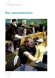 Bilag - Ungdomsuddannelserne - Fonden for Entreprenørskab