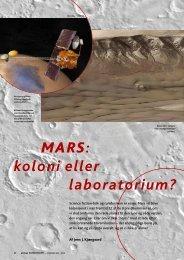 MARS: koloni eller laboratorium? - Horsens HF og VUC