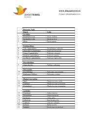 Liste over fuglearte - Diana Travel