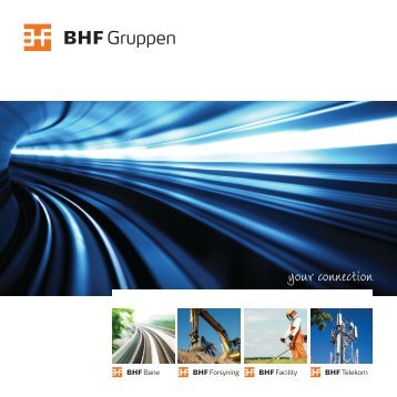 BHF Gruppens image brochure
