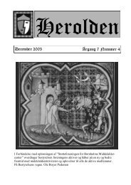December 2003 Årgang 7 Nummer 4 - Herolden