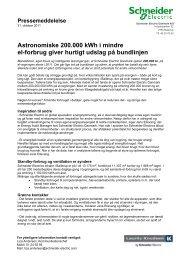 (pdf-format) samt link til billeder og billedtekster ... - Schneider Electric