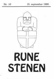 Nr. 16 18. september 1995 - Runestenen