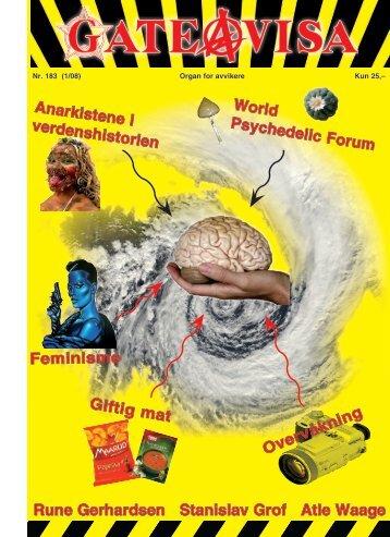Rune Gerhardsen Stanislav Grof Atle Waage World ... - Gateavisa
