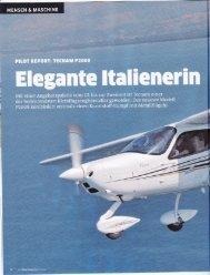 Bericht Fliegermagazin August 2011 - HB-LBU