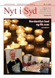 Nyt i Syd 02-2011 - Luthersk Mission, Sønderjyllands Afdeling