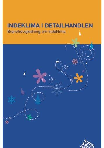 INDEKLIMA I DETAILHANDLEN - BAR Handel