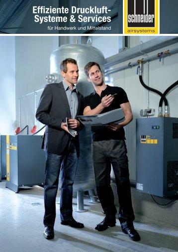 Effiziente Druckluft- Systeme & Services - Schneider-Airsystems