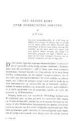 A. W. Lang: Det ældste kort over Nordeuropas søruter, s. 145-172