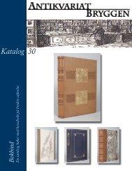 Katalog 30 - Antikvariat Bryggen