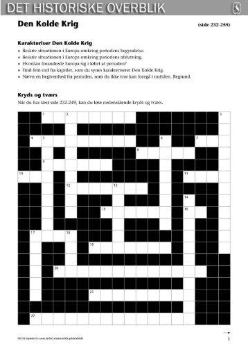 det historiske overblik pdf
