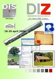 DIS-Vestfold reiser til Dalsland. 18-20 april 2008