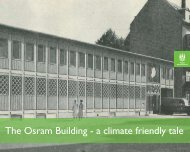 The Osram Building - a climate friendly tale - Smart-e Buildings