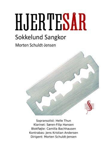 Koncertprogram - Sokkelund Sangkor