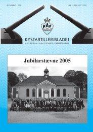 Jubilarstævne 2005 - Kystartilleriforeningen