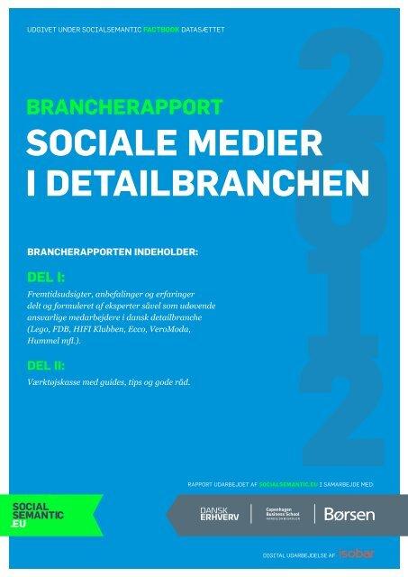 Sociale medier i detailBranchen - Dansk Erhverv