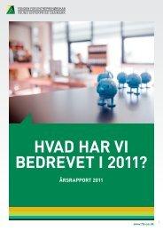 årsrapport 2011 - Fonden for Entreprenørskab