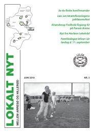 Lokalt Nyt nr. 3 2010