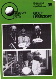 udvalget - Ebeltoft Golf Club