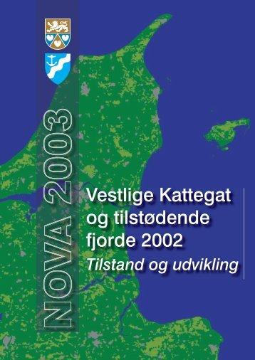 Vestlige Kattegat og tilstødende fjorde 2002 ... - Mariager Fjord