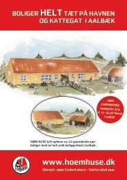 Brochuremateriale Vibevej - Høm Huse A/S