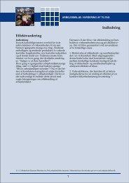 Effektvurdering Indledning - Arbejdsmiljoweb.dk