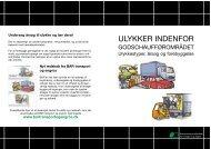 ULYKKER INDENFOR - BAR transport og engros