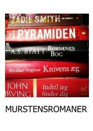 Litteraturliste over murstensromaner - Slagelse Bibliotekerne