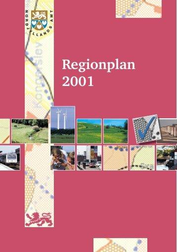 Regionplan 2001