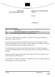 9774/04 mh/gb/JS/ub 1 RÅDET FOR DEN EUROPÆISKE ... - Europa