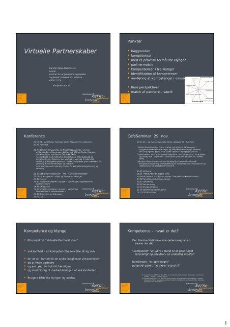 Karsten Boye Rasmussens oplæg d.25.10.04 (.pdf) - Virtuelle ...