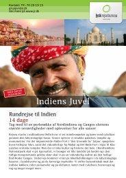 Indiens Juvel - Jysk Rejsebureau