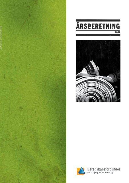 Årsberetning 2007 - Beredskabsforbundet