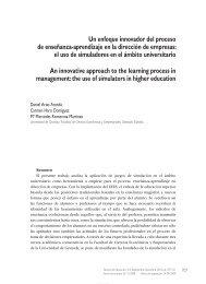 Un enfoque innovador del proceso de enseñanza-aprendizaje en la ...