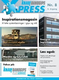 Fokus på: Inspirationsmagasin - Knauf Danogips