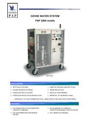 Anseros Ozone Water System PAP Mobile 2000