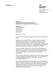 Referat - Danish Design Association